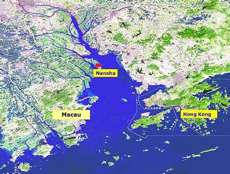 guangzhou port port facts port of nansha