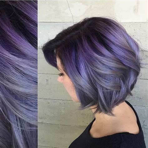 pictures of grey hairstyles with pink highlights 25 best ideas about purple grey hair on pinterest