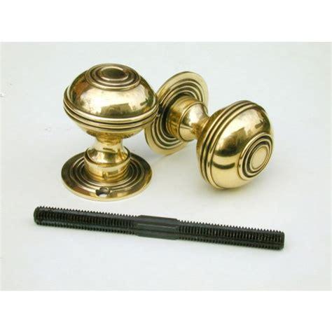 Aged Brass Door Knobs by Bloxwich Door Knobs In Aged Brass Dblo From Cheshire