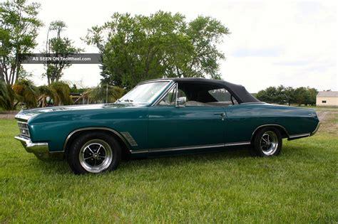 1966 buick skylark convertible v8 300