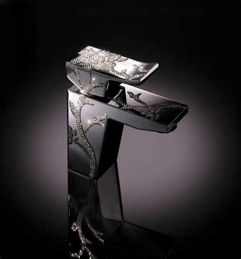 unique swarovski faucets for shower or sink by cotto macral design faucets luxe sink faucet with swarovski
