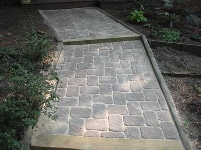 How To Lay Concrete Patio by How To Lay Concrete Pavers