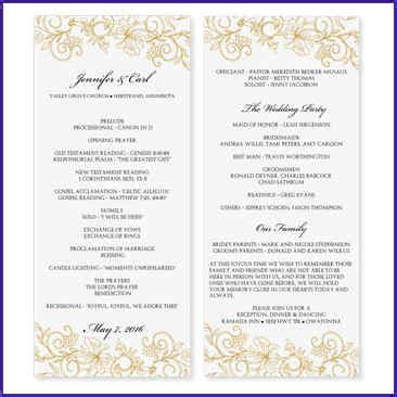 Free Downloadable Wedding Program Template That Can Be Printed Shatterlion Info Program Template Microsoft Word
