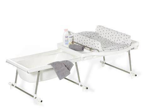 Combiné Baignoire Table à Langer by Baignoire Bebe Combine Table Langer Grossesse Et B 233 B 233