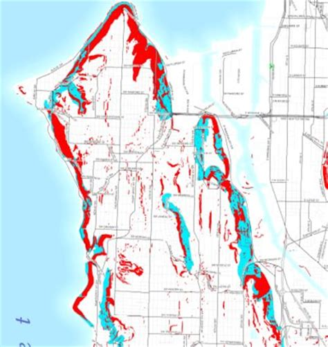 seattle landslide map west seattle west seattle briefing elevated