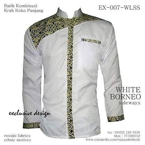 Seragam Koko Biru Panjang 14 gambar seragam batik kombinasi terbaik di
