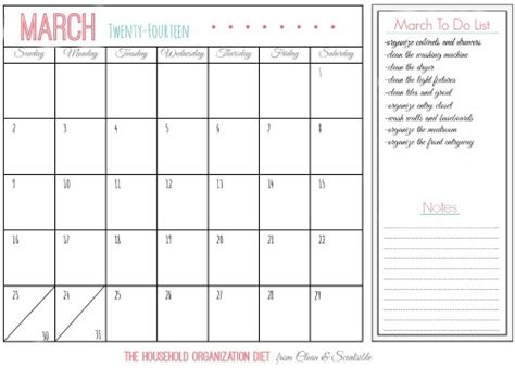 printable organizational calendar how to clean and organize the laundry room clean and