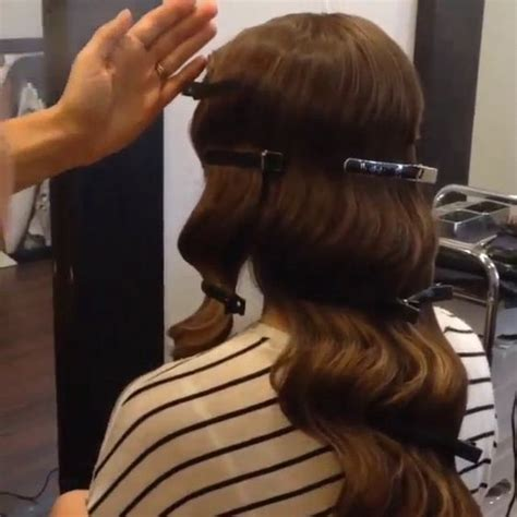 old hollywood glamour hairstyles tutorial old hollywood glamour hair tutorial hair pinterest
