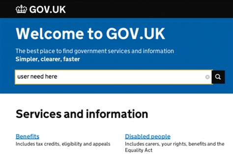 Government Finder Organisation Templates Government Digital Service