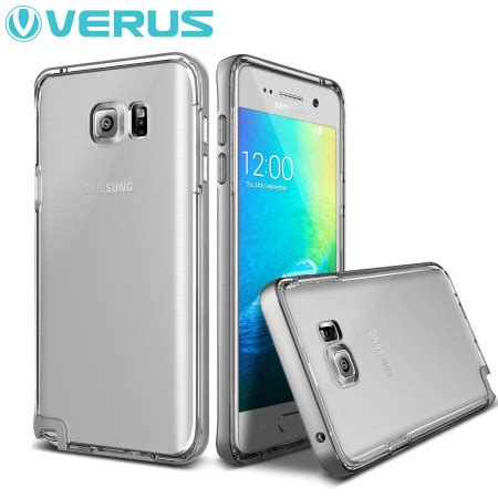 Samsung Galaxy Note 5 Silver Transformer Flash Bumper I Berkualitas verus bumper series samsung galaxy note 5