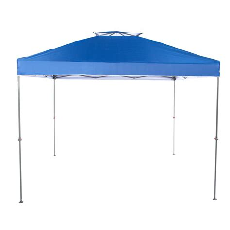 10 x 10 pop up instant canopy everbilt ns 100 10 ft x 10 ft blue instant canopy pop up