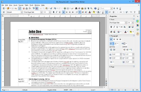 open office memo template apache openoffice writer