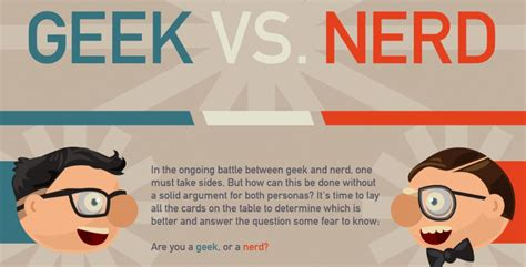 Do Geeks Make Better by On Who Does It Better Geeks Or Nerds Gotoassist