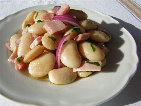come cucinare i fagioli bianchi di spagna insalata di fagioli di spagna in cucina con zia lora