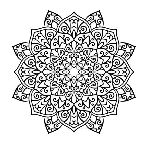 Imagenes De Mandalas Florales | los mejores dise 241 os de mandalas de flores debuda net