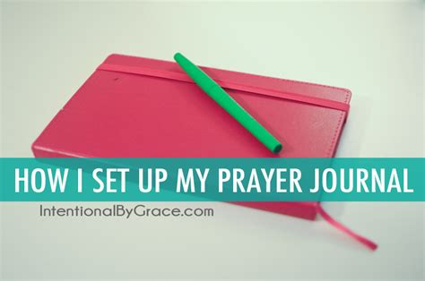 daily business meeting with god a special journal to focus your work day according to his plan books how to make a prayer notebook intentional by grace