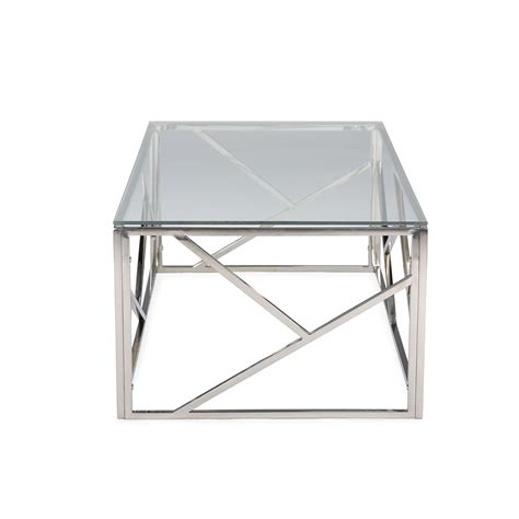 glass and chrome table aero chrome glass coffee table modern furniture