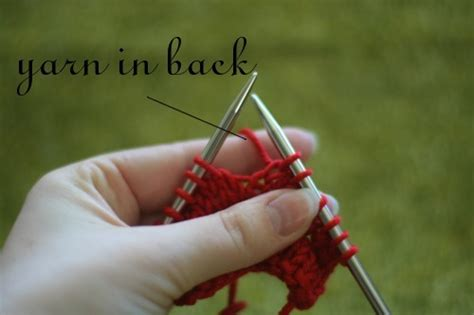 what does yo in knitting knitting increase tutorial yo