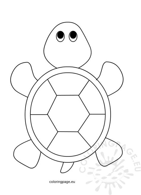 preschool coloring pages turtles sea turtle for kids coloring page