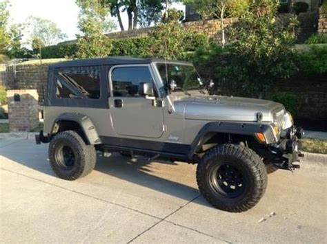 2005 Jeep Wrangler Transfer Purchase Used 2005 Jeep Wrangler 4x4 Unlimited Lwb 4 0l