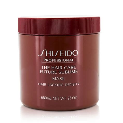 Shiseido Hair Care shiseido the hair care future sublime mask hair lacking