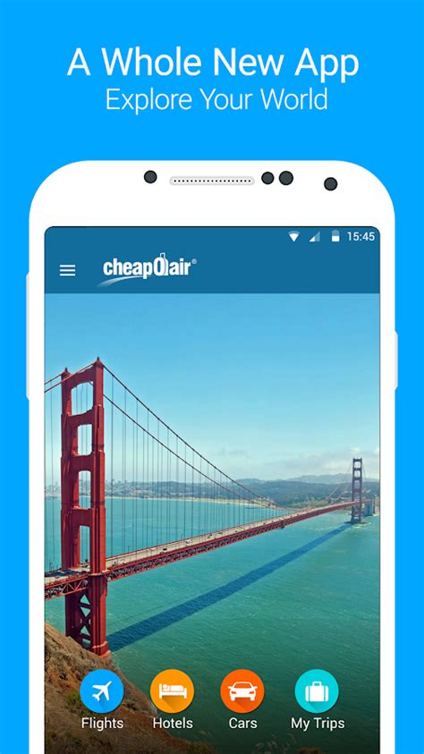 cheapoair flights hotel car android apps on play