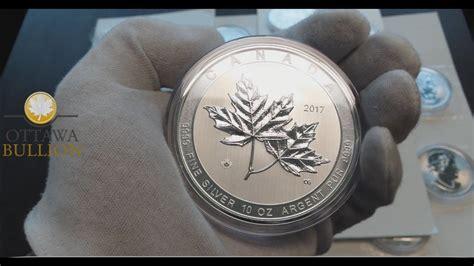 10 oz silver coin canada 2017 10 oz magnificent maple silver coin royal canadian