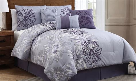 groupon comforter set vienna 7 piece comforter set groupon goods
