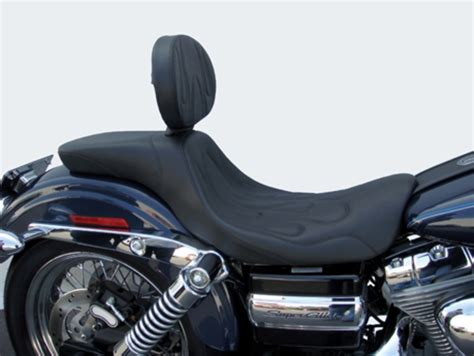 harley davidson glide seat pan c c motorcycle seats introduces new 2up seats for harley