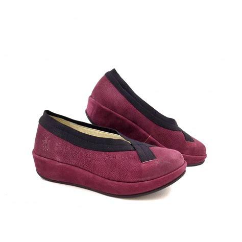 Flat Shoes Fly fly bobi slip on flatform shoes in magenta