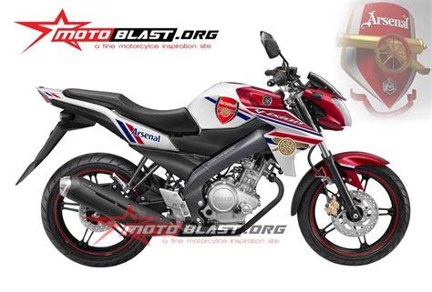 Fairing Custom R25 For Vixion Black White Energy new vixion arsenal5 motoblast
