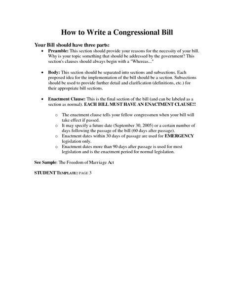 how to write a bill template best photos of writing a bill template how to write bill