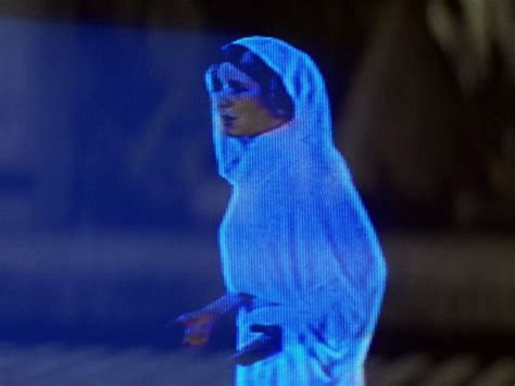 hologramm le cisco unveils wars esque hologram communication