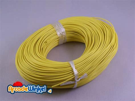 Kabel Data Per Meter arcadewinkel nl kabel geel per meter kabels
