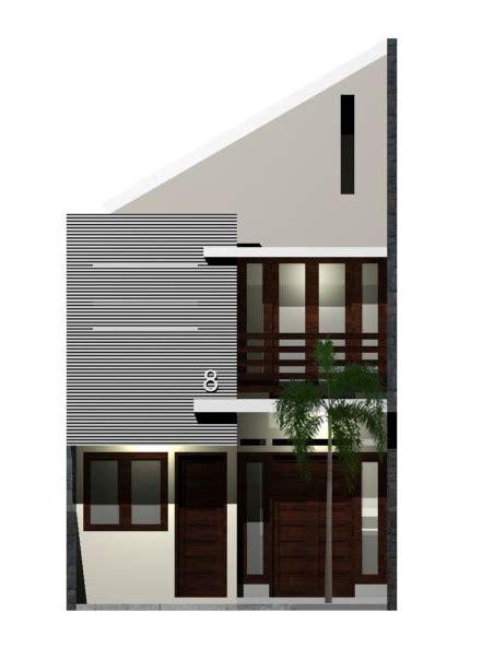 desain rumah asri  lahan   eramuslim
