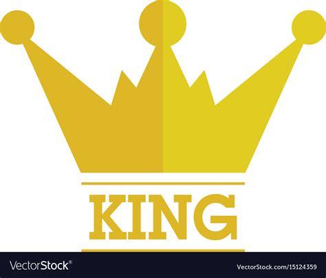 king crown images king crown logo royalty free vector image vectorstock