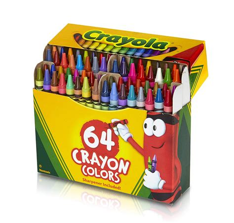 crayola colors crayola 64 ct crayons student office color school
