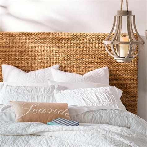 seagrass twin headboard best 25 seagrass headboard ideas on pinterest coastal