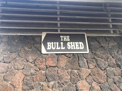 Bull Shed Restaurant Kapaa Hi by The Bull Shed Restaurant Kapaa Restaurant Bewertungen