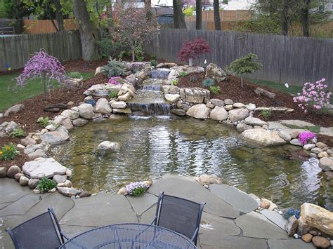 Backyard Waterfalls Kits by Backyard Pond Pondless Waterfall And Water Garden Kits
