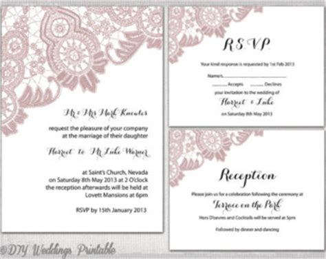 wedding invitations with rsvp and reception cards festival tech
