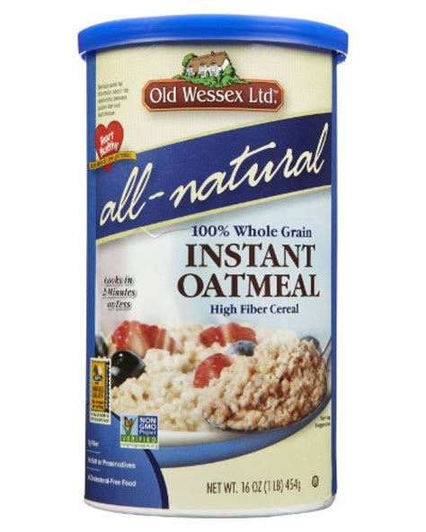 Oat Meal Organik Non Instant wessex organic instant oatmeal 454gr