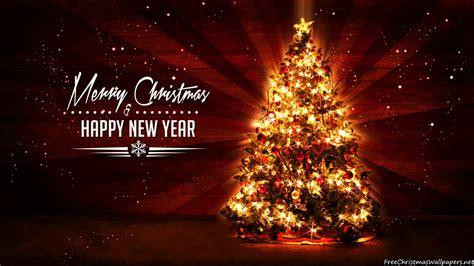 christmas tree rays 1600x900 wallpaper