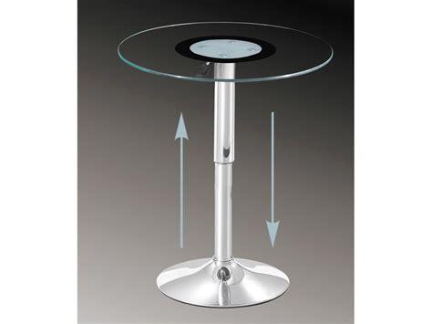 Verstellbare Tische Wohnzimmer by Glastisch Rund H 246 Henverstellbar Beistelltisch 60 Cm