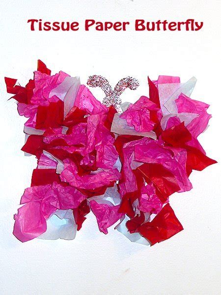 How To Make Tissue Paper Butterflies - how to make a butterfly with tissue paper 28 images