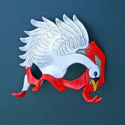 Swan Mask Template swan mask by merimask on deviantart