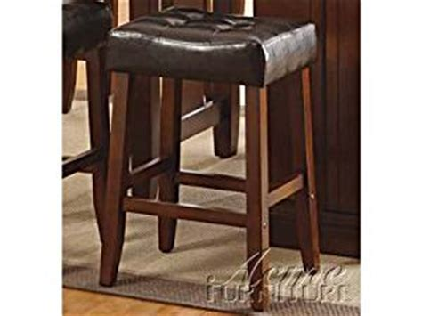 counter height chairs for kitchen island acme furniture 10234 kitchen island counter height stools kitchen dining