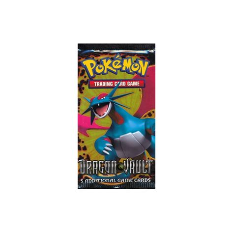 Gift Card Packs - pokemon dragon vault booster pack 5 holo cards