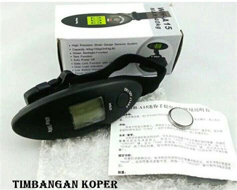 Timbangan Bagasi Digital Electronic Travel Luggage Scale 50kg Wh A20 timbangan koper
