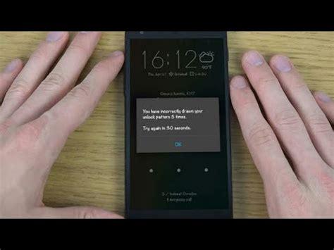 Lupa Pattern Kunci Android | cara buka android yang lupa kunci tanpa menghapus data